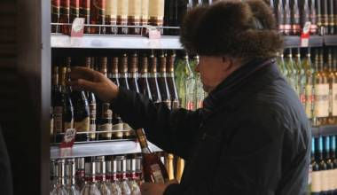 Russian Alcohol Consumption Falls 80% in 5 Years