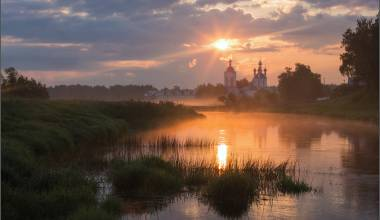 Pic of the Day - Church of the Protection of the Theotokos, Dunilovo, Russia - November 5, 2018