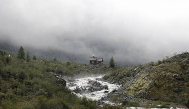 Pic of the Day - Chapel of the Archangel Michael, Altai Republic, Russia, October 21, 2019