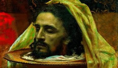 'Herod's Daughter' (Ivan Kramskoy, 1886) - GREAT RUSSIAN CHRISTIAN ART