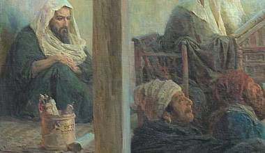 GREAT RUSSIAN CHRISTIAN ART: 'Jesus among the Teachers' (Vasily Polenov - 1896)
