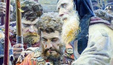 'The Blessing of St. Sergius of Radonezh' (Pavel Ryzhenko, 2005) - GREAT RUSSIAN CHRISTIAN ART
