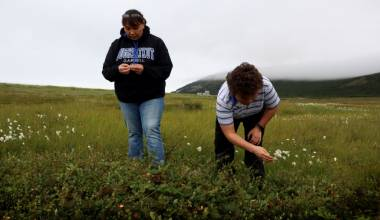 Some Alaskan Families are Divided by the US-Russia Border