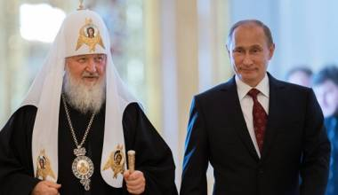 WATCH: Putin Says He Was Baptized by Patriarch Kirill's Father in 1952