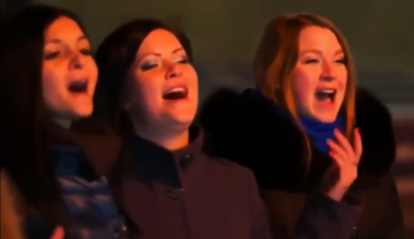 Incredible Harmonies! - Singing Outdoors in Southern Russia