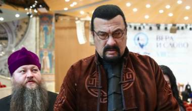 Steven Seagal Praises Russian Orthodox Christianity, Attends International Church Conference