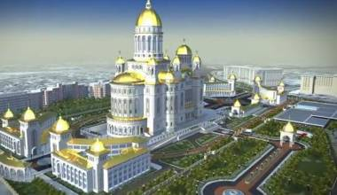 Romania Builds Largest Orthodox Church in the World