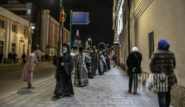 Haverá Procissões Diariamente no Centro de Moscou contra o Coronavírus