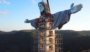 Estátua de Cristo no RS Supera a do Rio e Vira Maior do Brasil (FOTOS)