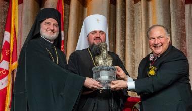 BROWN-NOSING BARTHOLOMEW: America's Top Greek Archbishop Claims Patriarch is Like a Saint