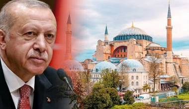 Erdogan Orders Study of Possibility of Converting Agia Sophia Into a Mosque Again