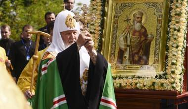 O Patriarca Cirilo Chama o Batismo da Rússia de o Principal