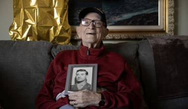 For 100-Year-Old World War II Vet and His Bride, It Was All Destiny