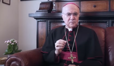 MUST WATCH: Archbishop Vigano Blasts Pope: 'Zealous Accomplice' in Satanic Plot to Destroy Church via COVID, Great Reset