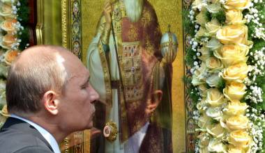 Putin Gets Personal - Explains Why He Never Takes His Cross Off