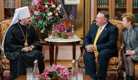 Secretary of State Admits U.S. Govt Actively Supports Enemies of the Orthodox Church