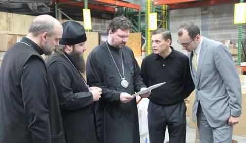 Orthodox Churches in America Sending Aid to Residents in Eastern Ukraine