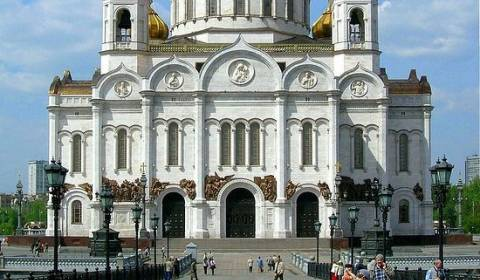 Russia's Grandest Cathedral: A Story of Napoleon's Defeat, Stalin's Brutality, and Russia's Christian Rebirth