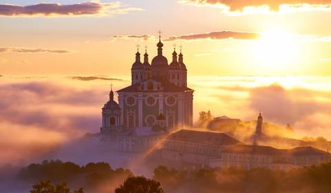 Pic of the Day - Russia - Assumption Cathedral, Smolensk, Russia, April 1, 2019