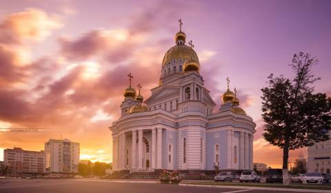 Pic of the Day - Cathedral of St. Theodore Ushakov, Saransk, Mordovia, Russia - February 11, 2019