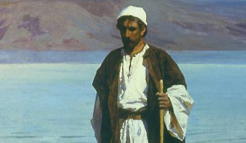 'At the Sea of Galilee' (Vasily Polenov, 1888) - GREAT RUSSIAN CHRISTIAN ART