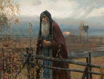 'St. Sergius of Radonezh' (Pavel Ryzhenko, 2013) - GREAT RUSSIAN CHRISTIAN ART