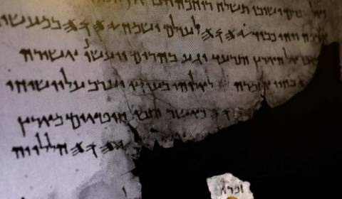 Mysterious Residue Found on Key Dead Sea Scroll Calls Its Origin Into Question
