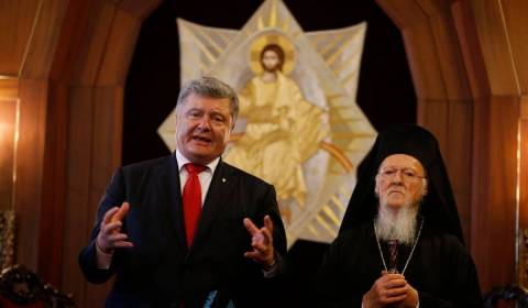 Patriarch Bartholomew Makes Pact With Ukrainian Regime, Signs Agreement