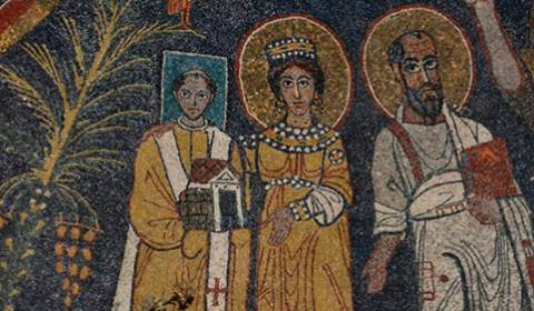 Why Do Some Saints Have Square Halos?