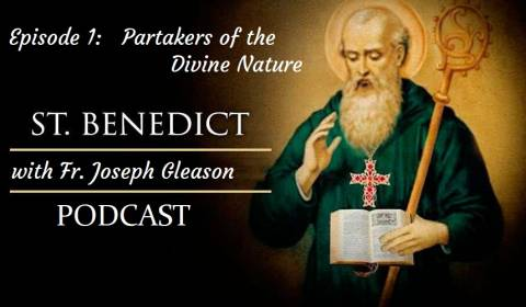 How Men Partake of the Divine Nature (ST. BENEDICT PODCAST)