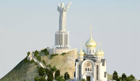 Russia Plans Massive Jesus Statue On Site Previously Reserved for Lenin & Stalin