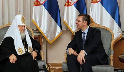 Patriarca de Moscou Condecorado pelo Presidente da Sérvia
