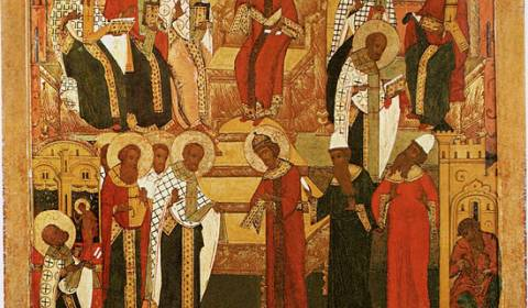 The Seventh Sunday After Pascha. The Holy Fathers of the First Ecumenical Council