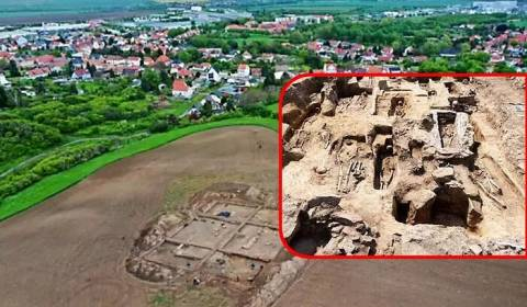 Descubren una iglesia anterior al cisma bajo un maizal alemán
