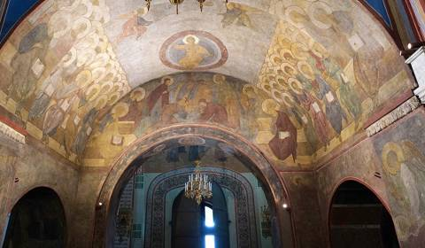 Andrei Rublev's Frescoes in the Cathedral of the Assumption in Vladimir Can Now Be Seen in Detail