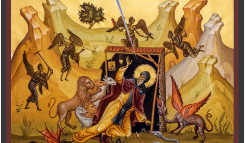 The Fight Against the Evil Spirit