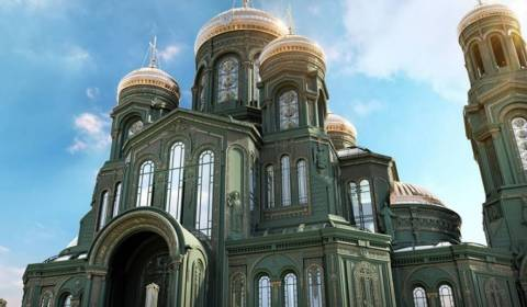 Church And Army Best Allies: Russian New Cathedral For Armed Forces Looks More Than Impressive!
