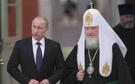 Putin Personally Thanks the Russian Patriarch For His Selfless Work in Russia