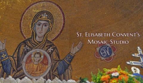Como um Convento Moderno Cria Belos Mosaicos de Estilo Bizantino (Vídeo)