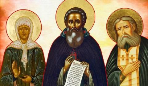 7 shenjtorët më të nderuar rusë