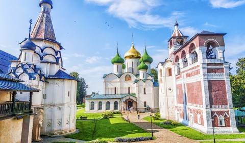 Russia's Ten Most Stunning Monasteries (Photos)