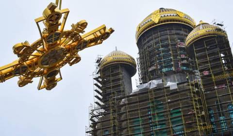 Moscou é Líder Mundial em Construção de Templos Cristãos