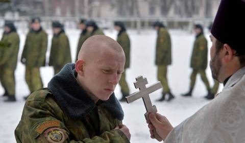 Russian Military needs Priests to defend Motherland