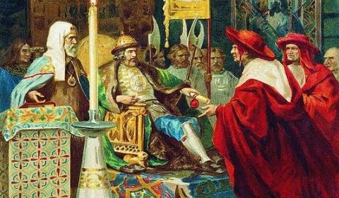 St. Alexander Nevsky stopped the absorption of Russia into Catholic Europe