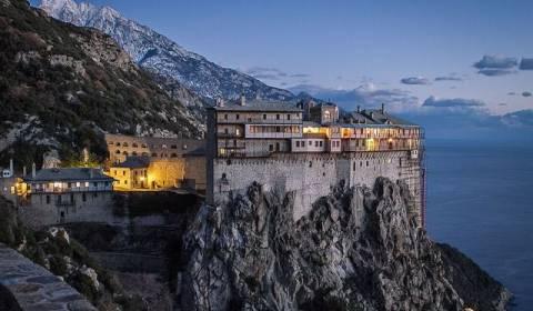 """Simonopetra """"Simon's Rock"""" Monastery, Mount Athos, Greece"""