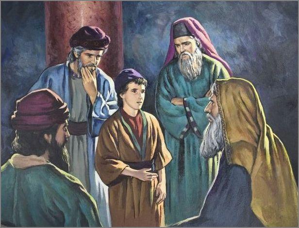 Jesus at age 12